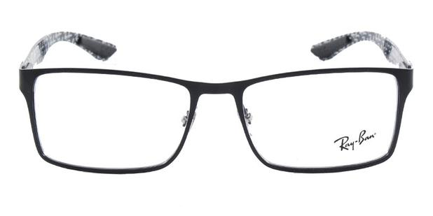 1022c41000f06 Óculos de Grau Ray Ban Tech RB8415 Preto Fosco Carbon Fiber - Ray ...