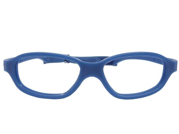 b4d0ea684c8bc Óculos De Grau Silicone Miraflex Masculino 10 a 15 Anos Nick Tam.48 -  Miraflex original