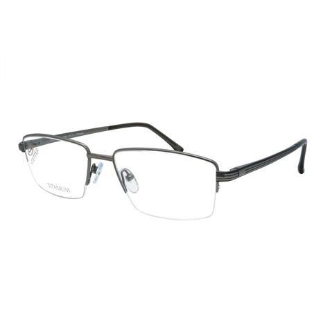 b7722e69b Óculos de Grau Stepper Unissex Titanium SI-60025 F029 - Grafite ...