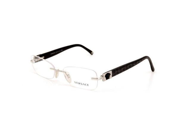 b2c9c7f45 Óculos de Grau Versace Feminino Acetato e Metal Preto - Óptica ...