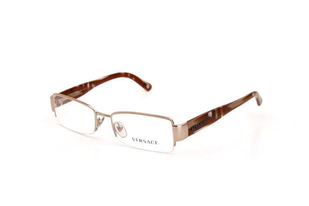 4220723af Óculos de Grau Versace Masculino Metal Dourado - Óptica - Magazine Luiza
