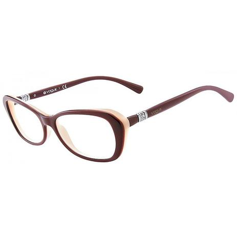 6978429046149 Óculos de Grau Vogue Acetato Bordeaux - Óptica - Magazine Luiza
