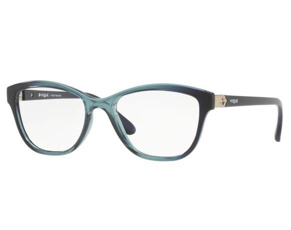 fafe8caa31818 Óculos de Grau Vogue Feminino Azul VO5130L 2516 Tam.52 - Vogue original