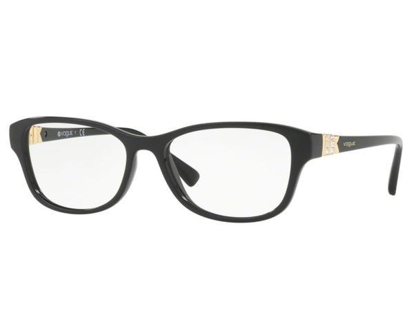 Óculos de Grau Vogue Feminino Preto VO5170B W44 Tam.54 - Vogue original 2350ad567f