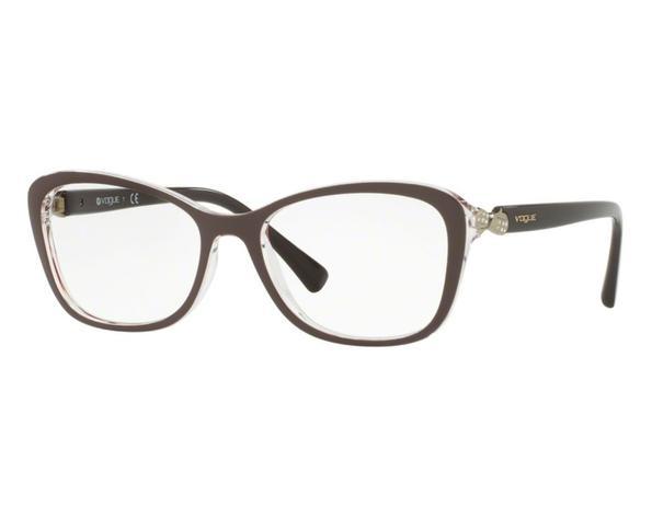 c3770c7bb350e Óculos de Grau Vogue Feminino Retrô VO5095B 2465 Tam.54 - Vogue original