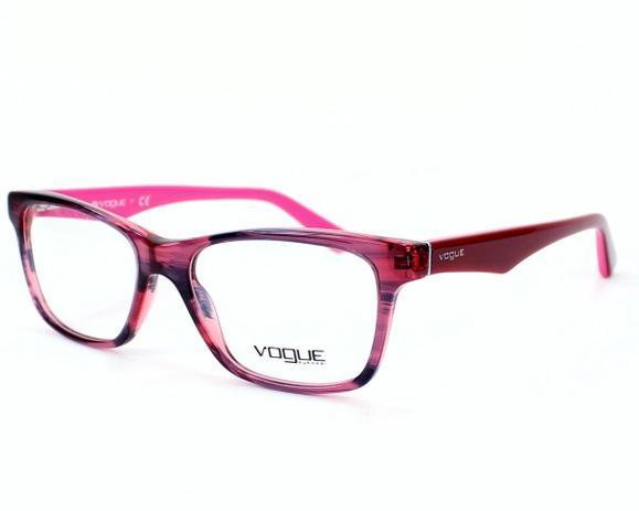 81b39632d Óculos de Grau Vogue Feminino Rosa VO 2787 2061 Tam.53 - Vogue original