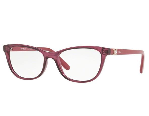 1d35a8367 Óculos de Grau Vogue Feminino Rosa VO5186BL 2549 Tam.53 - Vogue original