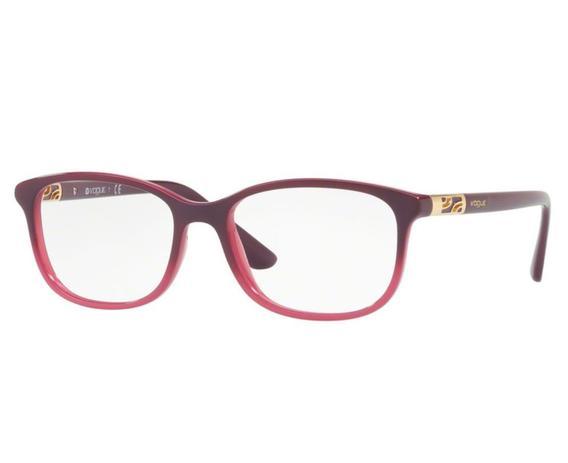 c7e3df44f19e1 Óculos de Grau Vogue Feminino Roxo VO5163 2557 Tam.53 - Vogue original