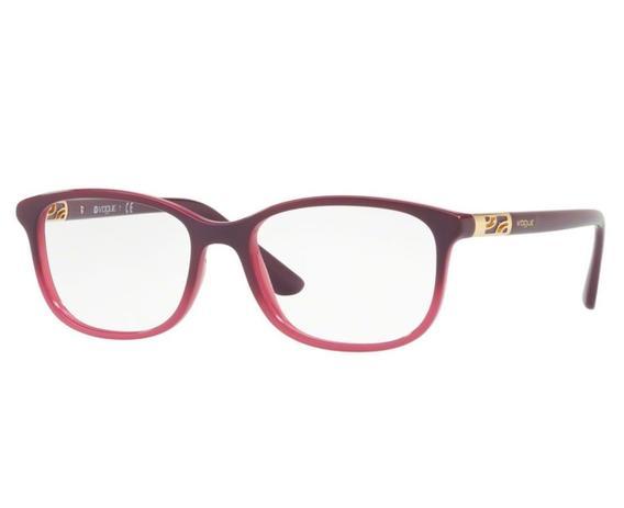 d96cac9d7 Óculos de Grau Vogue Feminino Roxo VO5163 2557 Tam.53 - Vogue original