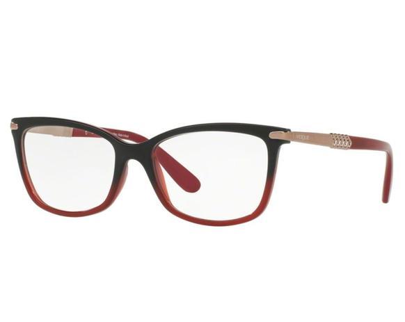 728053b68 Óculos de Grau Vogue Feminino Vermelho VO5125L 2504 Tam.53 - Vogue original