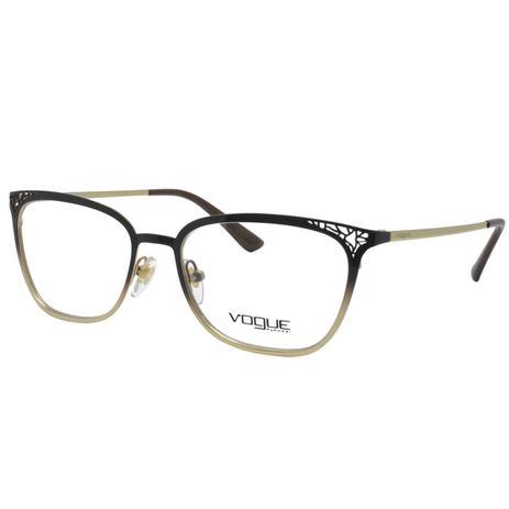 Óculos de Grau Vogue Feminino VO4103 997 - Metal Marrom e Dourado Degradê d797ffa603