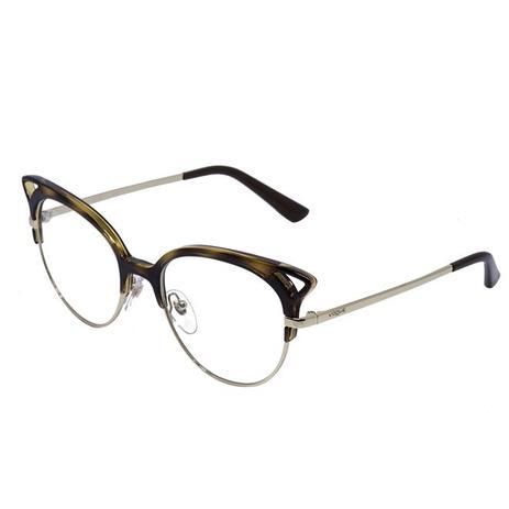 Óculos de Grau Vogue Feminino VO5138 CW656 - Acetato Tartaruga e Metal -  Óculos de grau feminino - Magazine Luiza edc4c18656