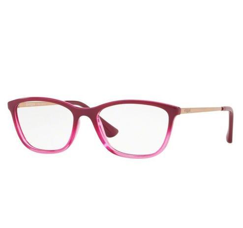 ad1a262c8 Óculos de Grau Vogue Rosa Degradê VO 5219L 2628 Tam.51 - Vogue original