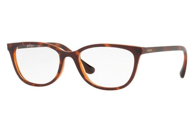 46ecbc798 Óculos de Grau Vogue VO5192L 2386/53 Havana - Óptica - Magazine Luiza