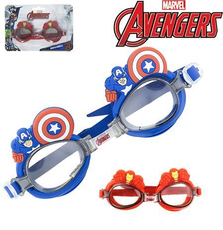 7711a9071 Oculos de natacao 3d vingadores/avengers na cartela - Etihome ...