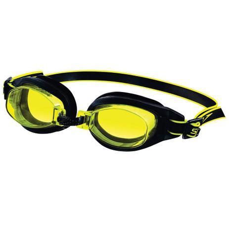 Óculos de Natação Freestyle 3.0 Preto Amarelo Speedo - Óculos de ... ab319b093b