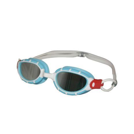 Óculos de Natação Fusion Mirror Azul e Branco HammerHead - Óculos de ... 32b29c04cc