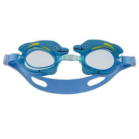 Óculos De Natação Infantil Mor Antiembaçante Golfinho Azul - Óculos ... 9413869296d4f