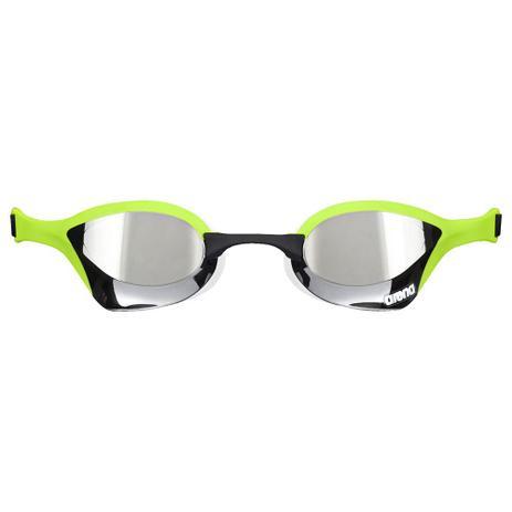 62e62d9ab Óculos De Natação Preto E Verde Cobra Ultra Mirror Arena - Óculos de ...