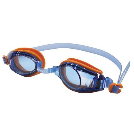 593a74680fc1e Óculos De Natação Raptor Laranja Azul Speedo - Esportes Náuticos ...