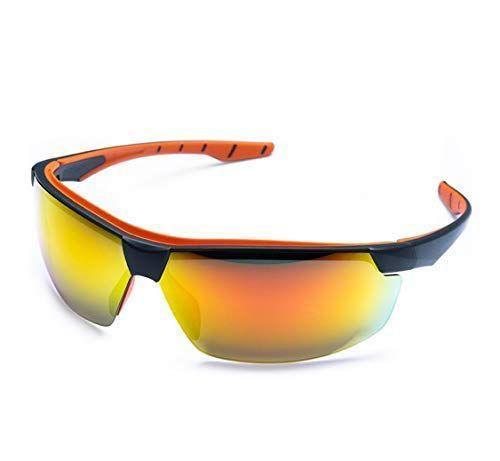 93d0cf9a3 Imagem de Óculos de proteção esportivo steelflex neon espelhado corrida  ciclismo motocross trilha bike skate futvoley