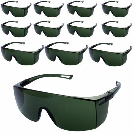 b6f169ebcc26b Óculos de Proteção Rayban Verde Sky WPS0209 com 12 Unidades DELTA PLUS