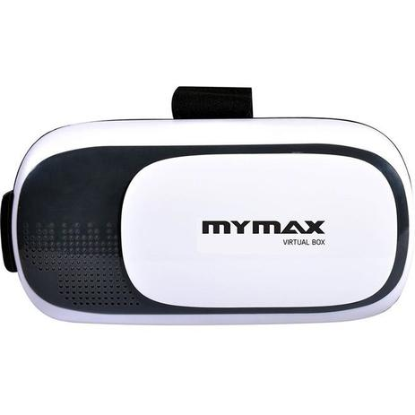 Óculos de Realidade Virtual 3D V-Box Branco - Mymax - Acessórios ... 657e8641b9