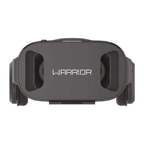 e646a6e0a Óculos De Realidade Virtual 3D Warrior JS086 Com Headphone Preto ...