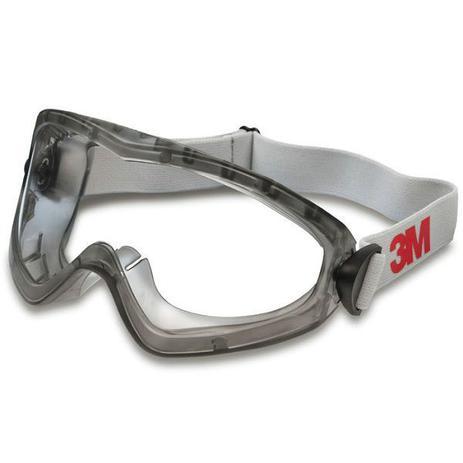 Imagem de Oculos de Segurança AMPLA Visao 3M SG 2890 Transparente
