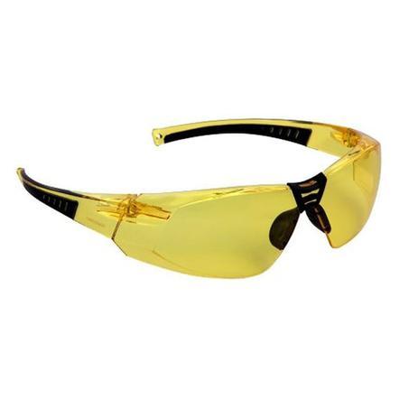 Imagem de Óculos de segurança Cayman anti embaçante Ambar Ref 012481112 CARBOGRAFITE