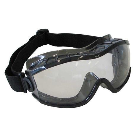 985000a780f55 Oculos de Seguranca Incolor Ampla Visao Elastico Regulagem EVOLUTION -  Carbografite