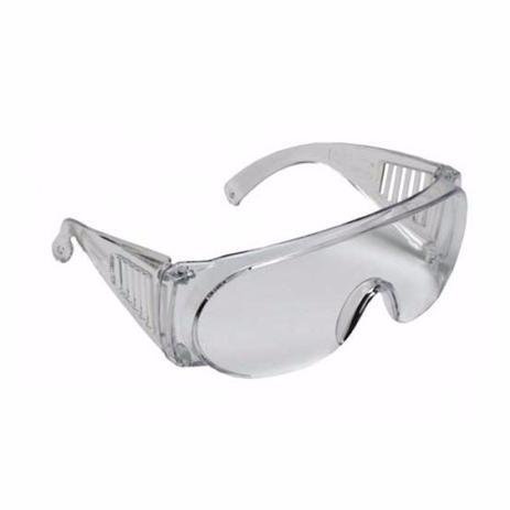 3dff666267a7d Óculos De Segurança Sobrepor Óculos De Grau (incolor) - Carbografite ...
