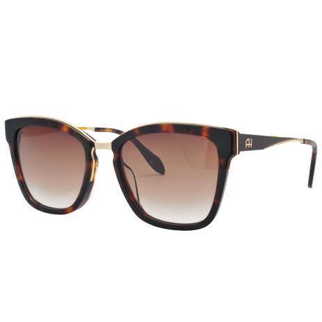 7ec0cf47e8529 Óculos de Sol Ana Hickmann Feminino AH9262 G21 - Acetato Tartaruga Marrom