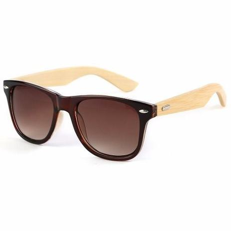 d95dc7c30 Óculos de Sol Armação de Madeira Bambu - Vinkin - - - Magazine Luiza