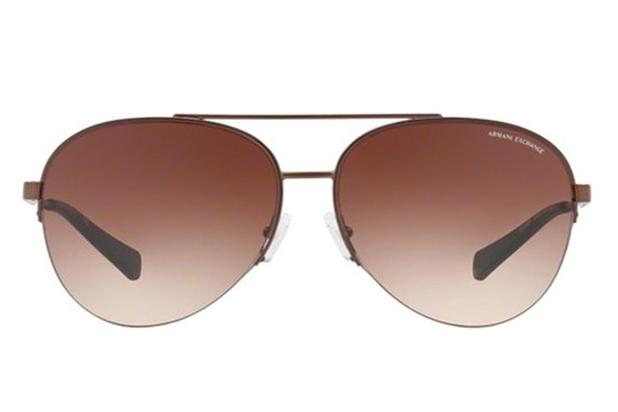 d5b272203e087 Óculos de Sol Armani Exchange AX2020SL 609613 60 Bronze Fosco ...
