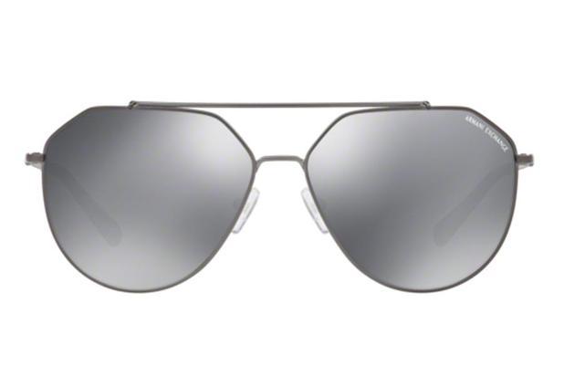 983d8ebe3 Óculos de Sol Armani Exchange AX2023S 60886G/59 Cinza Escuro Fosco ...