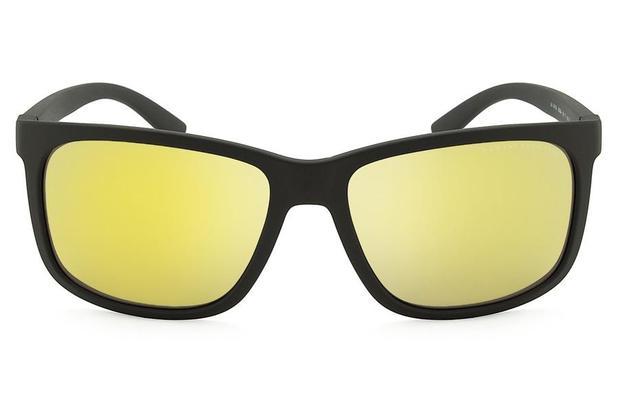 b1008f1adb97c Óculos de Sol Armani Exchange AX4041SL 80625A 58 Marrom Fosco ...