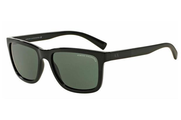 0d8e8243d1ddf Óculos de Sol Armani Exchange AX4045SL 824487 56 Cinza Brilhante ...