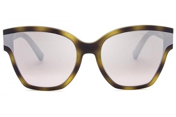 Óculos de Sol Armani Exchange AX4073S 80298Z 63 Havana Fosco ... eda5e2981d