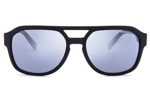 1322502bc Menor preço em Óculos de Sol Armani Exchange AX4074S 80786G/57 Preto Fosco