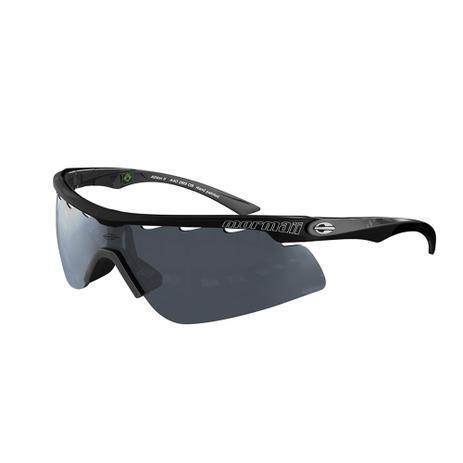 483493293 Óculos De Sol Athlon 2 Preto Com Cinza Espelhado Mormaii ...
