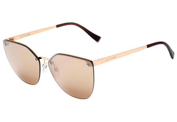 cac283b65cf20 Óculos de Sol Atitude Feminino AT3214 04B - Óculos de Sol - Magazine ...