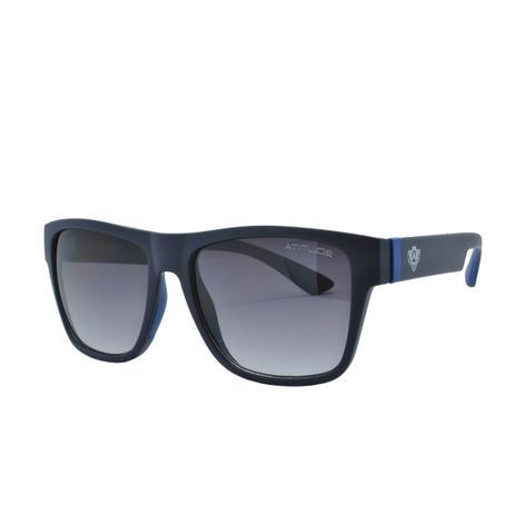 976e6c06eceff Óculos de Sol Atitude Masculino AT5396 D01 - Acetato Azul Fosco ...