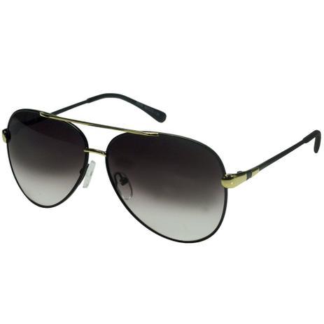 bf977ff6b2d26 Oculos De Sol Aviador Dourado Feminino Degrade 203 - Isabela dias ...