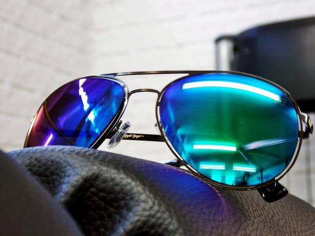 ced296757 Menor preço em Oculos de sol aviador feminino drop me allow by angela  borges dual -