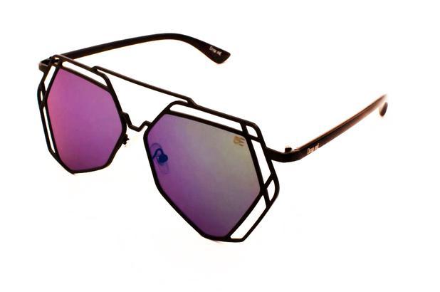 Oculos de sol aviador linhas retas drop me lente espelhada multicor - Drop  me acessorios - Óculos de Sol - Magazine Luiza e772c30de4