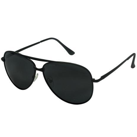 e58e97dd9 Oculos De Sol Aviador Polarizado Preto Homem 705 - Izaker ...