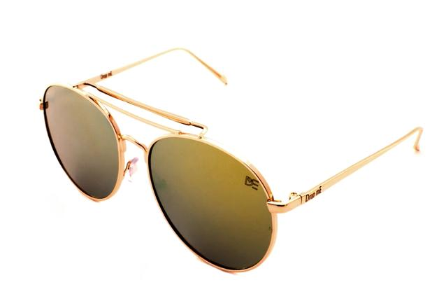 Oculos de sol aviador premium drop me dourado espelhado verde claro - Drop  me acessorios 9e1aedad0a