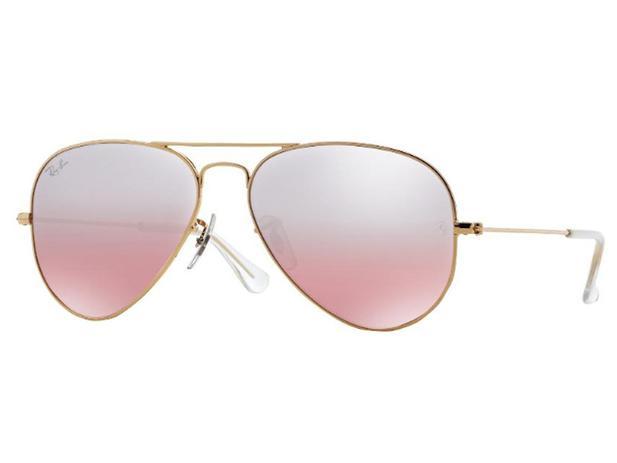 6e70d98a3aa84 Óculos De Sol Aviador Ray Ban RB3025 001 3E Tam.55 - Ray ban original