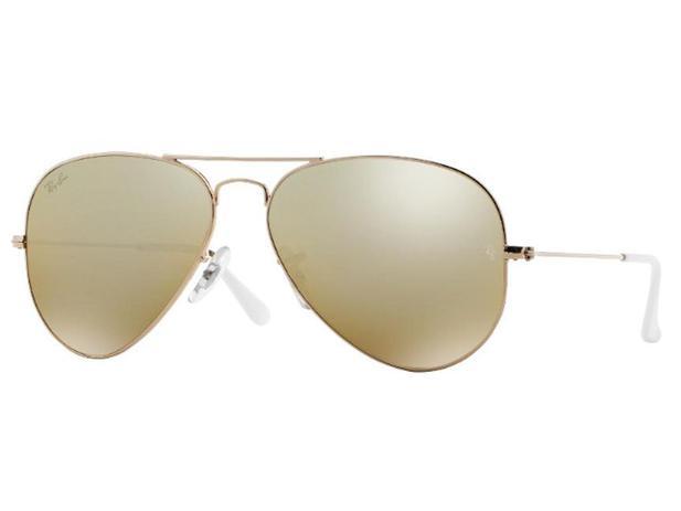 5bd5a5856 Óculos De Sol Aviador Ray Ban RB3025 001/3K Tam.58 - Ray ban original